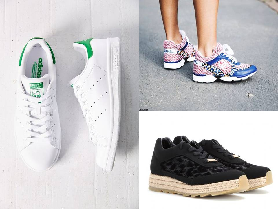 fashion basket adidas chanel stella mc cartney