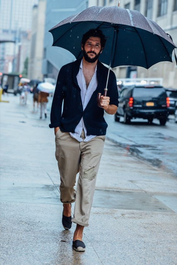 mode homme street style barbe hipster