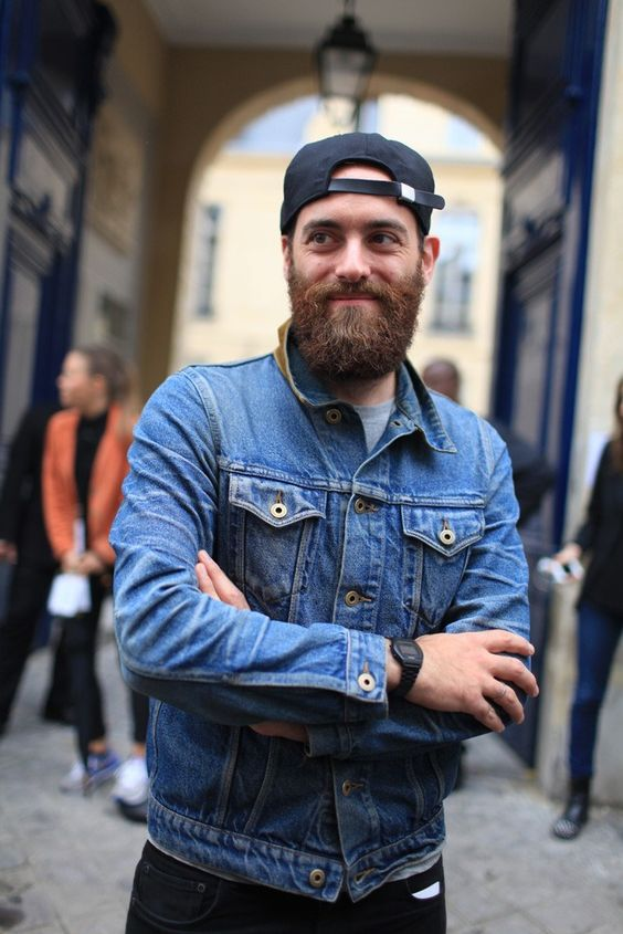 mode homme barbe